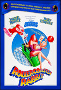 "Movie Posters:Animation, Rollercoaster Rabbit (Buena Vista, 1990). Rolled, Very Fine+. One Sheet (27"" X 40""). Animation.. ..."