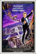 """Movie Posters:James Bond, A View to a Kill (United Artists, 1985). Rolled, Very Fine+. One Sheet (27"""" X 41""""). SS Advance, Dan Gouzee Artwork. James Bo..."""