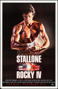 "Rocky IV & Other Lot (MGM/UA, 1985). Rolled, Fine/Very Fine. One Sheet (27"" X 41"" & 27.25"" X 39.7..."