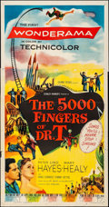 "Movie Posters:Fantasy, The 5000 Fingers of Dr. T (Columbia, 1953). Folded, Fine/Very Fine. Three Sheet (41"" X 79""). Fantasy.. ..."