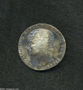 Italian States:Naples & Sicily, Italian States: Naples & Sicily. Joachim Murat 12 Carlini 1810, Bust left/Crowned arms, KM-C103, VF with reverse adjustment marks and some s...