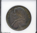 Italy:Papal States, Italy: Papal States. Pius IX Scudo 1853B Year VIII, Bust left/Dateand value in wreath, KM1336.2, AU55 NGC. A very scarce issue....