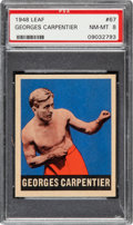 Boxing Cards:General, 1948 Leaf Georges Carpentier #67 PSA NM-MT 8 - None Higher....