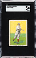 """Baseball Cards:Singles (Pre-1930), 1911-14 D304 """"Butter Krust"""" Cy Young SGC EX 5 - Pop One, None Higher! ..."""