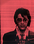 Prints & Multiples:Print, Russell Young (British, b. 1960). Elvis (Pink), 2007. Screenprint in colors on canvas. 35-3/4 x 27-3/4 inches (90.8 x 70...