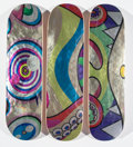 Collectible:Contemporary, Takashi Murakami X ComplexCon. Dobtopus (three works), 2017. Screenprints in colors on skate decks. 8 x 32 inches (20.3 ... (Total: 3 Items)