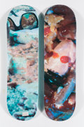 Collectible:Contemporary, Supreme X Cindy Sherman. Grotesque Series (two works), 2017. Offset lithographs in colors on skate decks. 32 x 8 inches ... (Total: 2 Items)
