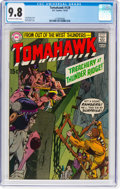 Bronze Age (1970-1979):Western, Tomahawk #129 (DC, 1970) CGC NM/MT 9.8 Off-white to white pages....