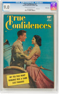 Golden Age (1938-1955):Romance, True Confidences #2 Crowley Copy Pedigree (Fawcett Publications, 1950) CGC VF/NM 9.0 Cream to off-white pages....