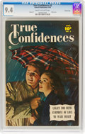 Golden Age (1938-1955):Romance, True Confidences #3 Crowley Copy Pedigree (Fawcett Publications, 1950) CGC NM 9.4 Cream to off-white pages....