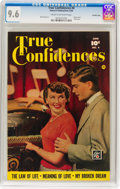 Golden Age (1938-1955):Romance, True Confidences #4 Crowley Copy Pedigree (Fawcett Publications,1950) CGC NM+ 9.6 Cream to off-white pages....