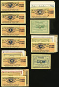 World Currency, Austria Notgeld Group Lot of 205 Examples About Uncirculated-CrispUncirculated.. ... (Total: 205 notes)