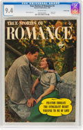 Golden Age (1938-1955):Romance, True Stories of Romance #3 Crowley Copy Pedigree (FawcettPublications, 1950) CGC NM 9.4 Off-white pages....