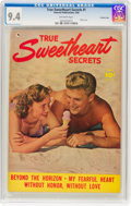 True Sweetheart Secrets #1 Crowley Copy Pedigree (Fawcett Publications, 1950) CGC NM 9.4 Off-white pages