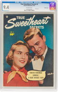 Golden Age (1938-1955):Romance, True Sweetheart Secrets #3 Crowley Copy Pedigree (FawcettPublications, 1950) CGC NM 9.4 Off-white pages....