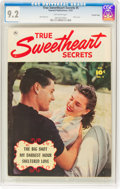 Golden Age (1938-1955):Romance, True Sweetheart Secrets #5 Crowley Copy Pedigree (Fawcett Publications, 1951) CGC NM- 9.2 Off-white pages....