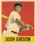 "Baseball Collectibles:Others, 2018 Josh Gibson 1948 Leaf ""Card That Never Was"" Original Artwork by Arthur Miller...."
