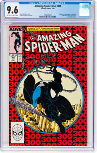 The Amazing Spider-Man #300 (Marvel, 1988) CGC NM+ 9.6 Off-white to white pages