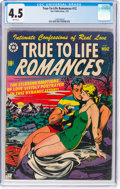 Golden Age (1938-1955):Romance, True-To-Life Romances #12 (Star Publications, 1952) CGC VG+ 4.5 White pages....