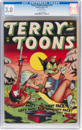 Golden Age (1938-1955):Funny Animal, Terry-Toons Comics #10 (Timely, 1943) CGC GD/VG 3.0 Off-whitepages....