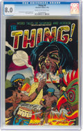 Golden Age (1938-1955):Horror, The Thing! #6 (Charlton, 1953) CGC VF 8.0 Cream to off-white pages....