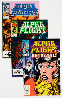 Alpha Flight #8-19 Box Lot (Marvel, 1984-85) Condition: Average VF/NM