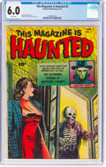 Golden Age (1938-1955):Horror, This Magazine Is Haunted #5 (Fawcett Publications, 1952) CGC FN 6.0 White pages....