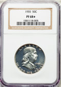 1955 50C PR68★ NGC. NGC Census: (3241/589 and 222/47*). PCGS Population: (330/3 and 222/47*). CDN: $115 Whsle. Bid for p...