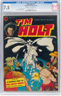 Golden Age (1938-1955):Western, Tim Holt #17 (Magazine Enterprises, 1950) CGC VF- 7.5 Cream tooff-white pages....