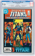 Modern Age (1980-Present):Superhero, Tales of the Teen Titans #44 (DC, 1984) CGC NM+ 9.6 White pages....