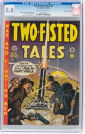 Golden Age (1938-1955):War, Two-Fisted Tales #29 Gaines File Pedigree (EC, 1952) CGC NM 9.4 Off-white to white pages....