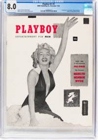 Playboy #1 (HMH Publishing, 1953) CGC VF 8.0 Off-white to white pages