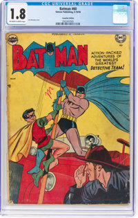 Batman #60 (Simcoe Publishing, 1950) CGC GD- 1.8 Off-white to white pages
