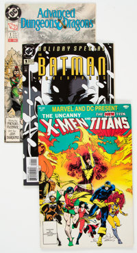 DC Modern Age Long Box Group (DC, 1980s-90s) Condition: Average FN/VF