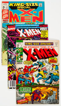 X-Men Annual Group of 15 (Marvel, 1970-93) Condition: Average FN/VF.... (Total: 15 Comic Books)
