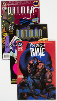 Batman - Key Issues Group of 3 (DC, 1994-95) Condition: Average VF.... (Total: 3 Comic Books)