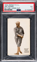 Baseball Cards:Singles (Pre-1930), 1922 E137 Zeenut PCL Jim Thorpe PSA EX 5 - Only Two Graded by PSA! ...