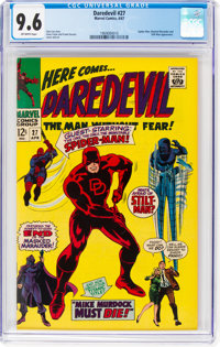 Daredevil #27 (Marvel, 1967) CGC NM+ 9.6 Off-white pages