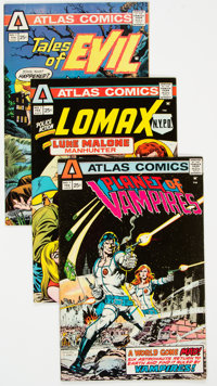 Atlas/Seaboard Group of 58 (Atlas-Seaboard, 1970s) Condition: Average FN.... (Total: 58 Comic Books)
