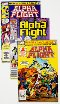 Alpha Flight Group of 86 (Marvel, 1980s-90s).... (Total: 86 Comic Books)