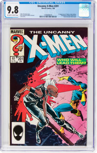 X-Men #201 (Marvel, 1986) CGC NM/MT 9.8 Off-white to white pages