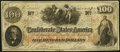 Confederate Notes:1862 Issues, T41 $100 1862 Fine.. ...