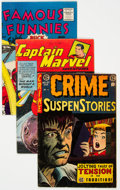 Golden Age (1938-1955):Miscellaneous, Golden Age Comics Group of 5 (Various Publishers, 1950s) Condition: Average VG/FN.... (Total: 5 Comic Books)