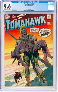 Tomahawk #121 (DC, 1969) CGC NM+ 9.6 Off-white to white pages