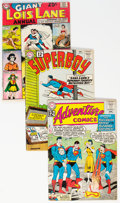 Silver Age (1956-1969):Superhero, Superman-Related Group of 15 (DC, 1960s) Condition: Average FN.... (Total: 15 Comic Books)