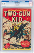 Golden Age (1938-1955):Western, Two-Gun Kid #1 (Marvel, 1948) CGC FN- 5.5 Off-white pages....