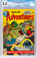 Golden Age (1938-1955):Miscellaneous, Thrilling Adventures in Stamps #8 (Stamp Comics, 1953) CGC FN- 5.5 Off-white to white pages....