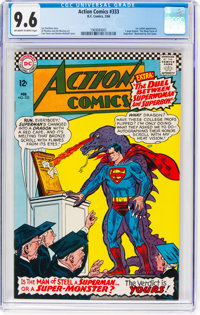Action Comics #333 (DC, 1966) CGC NM+ 9.6 Off-white to white pages