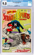 Silver Age (1956-1969):Adventure, The Brave and the Bold #49 Strange Sports Stories (DC, 1963) CGCVF/NM 9.0 Cream to off-white pages....