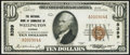 National Bank Notes:Kansas, Wellington, KS - $10 1929 Ty. 1 The NB of Commerce Ch. # 8399 Very Fine.. ...